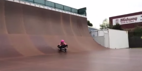 9 Year Old Girl Lands 540! - YouTube